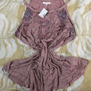 NWT Maurices pink tank
